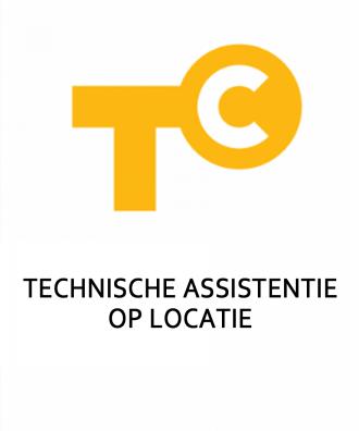 Technische assistentie op locatie (15 min)