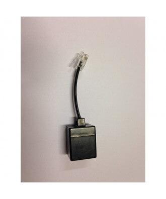 FRITZ!Box RJ45-RJ11-verloopadapter zwart (anlg telefoon)