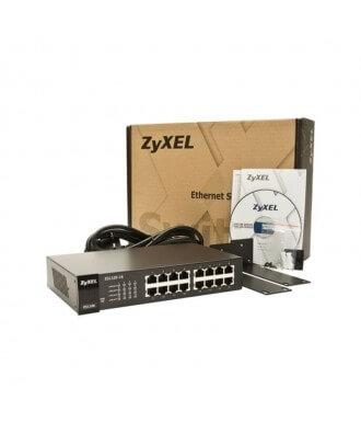 ZyXel 16-poorts 10/100 Desktop Switch