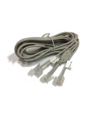 FRITZ!Box Y-kabel voor aansluiten van twee analoge internetaansluitingen (bonded)