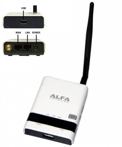 Alfa R36 AP/Router Personal HotSpot / WiFi Extender 3G/USB2