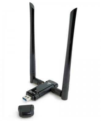 Alfa AWUS036AC compacte High Power AC1200 WiFi USB