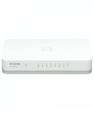 D-Link 8-poorts Gigabit Desktop Switch