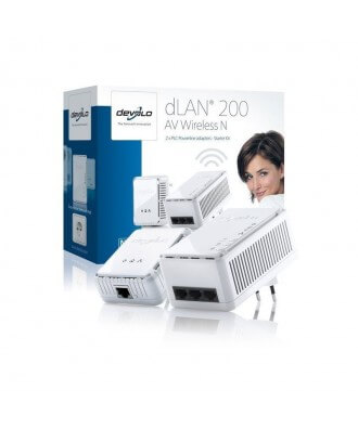 Devolo DLAN 200 AV Wireless N Starter Kit