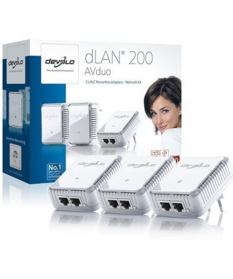 Devolo DLAN 200 AVduo Powerline Network Kit